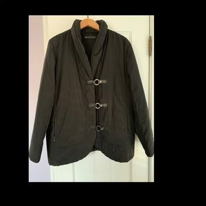 Dana Bachman black women's coat